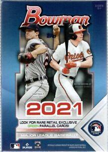 2021 Topps Bowman MLB Trading Cards Blaster Box 72 Cards Per Box