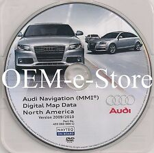 2005 to 2009 Audi A8 S8 RS8 A6 S6 Q7 Quattro Avant Navigation DVD Map 2010Update