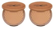 2 x Laura Geller Water Resistant Impressions LIGHT Matte Bronzer LOT! New in Box
