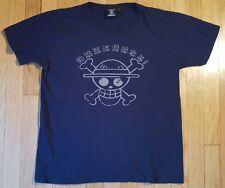 Womens ONE PIECE shirt L straw hat pirates anime otaku ladies Monkey D Luffy