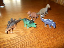 Lot of 5 unbranded  plastic Dinosaurs Wild Animal Toys/Figurines