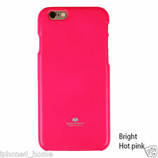 For iPhone 6/6s Plus Genuine Goospery Fluorescent Hot Pink Soft Jelly Case Cover