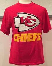 vtg Vintage Kansas City Chiefs 90s 1994 NFL Football T Shirt Trench Large
