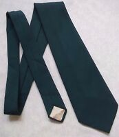 Vintage Tie Mens Wide Necktie Retro Fashion STRANGE OF LONDON DARK GREEN