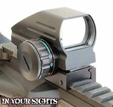 New Walther Holographic Red+Green Dot Sight Fits 20mm Rails/Airsoft Reflex Sight