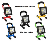 Hi Power 10/20/30/50W Portable LED Rechargeable Flood white Light Work & Camping