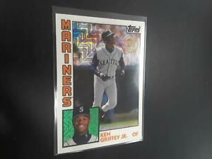 Ken Griffey Jr 2019 Topps '84 Silver Pack Chrome #T842 Seattle Mariners H23