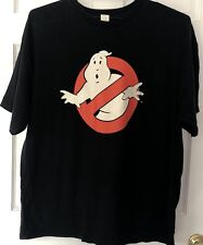 Vintage Ghostbusters T Shirt XXL Black Original trademarked
