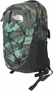 The North Face Borealis Unisex Outdoor Backpack, Olive Green Camo (Bright...