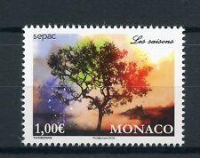 Monaco 2016 MNH Seasons SEPAC 1v Set Trees Nature Stamps