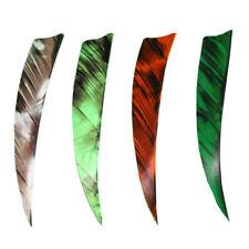 "36 Pack Camo Green Muddy Buck Gear 2/"" RW Shield Cut Feathers"