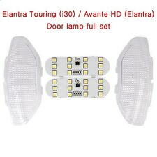 [Kspeed] (Fits: Hyundai 2008-2011 Elantra touring i30) LED Front Door Lamp Kit