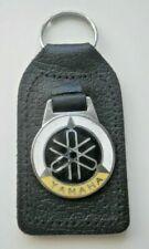 Yamaha vintage leather enamel keyring 70s