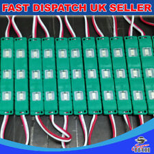 Green 20pcs LED x 3 Chip 5730 SMD Module Injection Mould Waterproof DC12V 0.72W