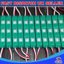 LED verde 20pcs x 3 Chip 5730 SMD Modulo STAMPO AD INIEZIONE IMPERMEABILE DC12V 0.72W