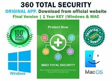 360 Total Security Premium,3 in 1 antivirus | fast | tools & PC perf. 1PC 1 year