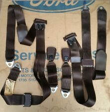 NOS GENUINE FORD REAR SEAT BELTS XB XC FALCON FAIRMONT TC TD CORTINA