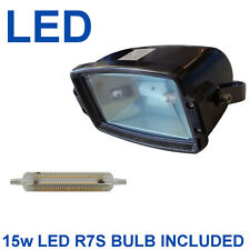 IP65 LED Floodlight Display Light Bright 15w Bulb Outdoor Indoor Projector Lamp