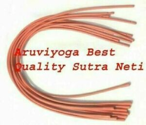2 Pcs Neti Sutra Neti Rubber Tube For Nasal Cleansing For Beginner