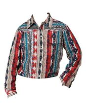 Roper Western Shirt Girls L/S Aztec Stripe S Multi 03-080-0590-6075 MU