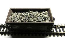 3,00 €/KG) - 500 gr Schüttgut für Güterwagen - 1-2 mm grau, echte Steine,Granit