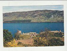 Vintage unused Arthur Dixon Postcard Urquhart Castle, Loch Ness, 3889