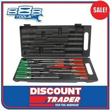 888 by SP Tools Screwdriver Set 13pc Phillips/slotted Plastic Carry