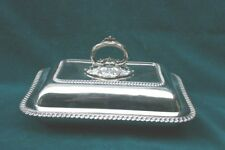 Mappin & Webb 1904 English Sterling Silver Cover Dish   MAGNIFICENT