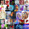 5D DIY Diamond Painting Flowers Animals Embroidery Cross Home Crafts Stitch Kit