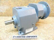Boston Gear  76.48:1  ratio   inline helical speed reducer  F843B-80K-B5-M4