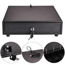 Cash Register Box 4 Projets de Loi et 5 Pcs Plateau Tiroir-Caisse POS Drawer