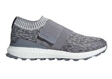 Men's adidas Golf Crossknit 2.0 Boost Laceless Golf Shoes F33600 - GREY