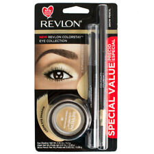 Revlon Colorstay Creme 725 Eye Shadow With 101 Onyx Kajal  220 Brow Pencil Kit