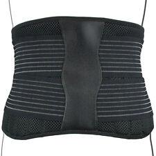 Neoprene 6 Splint Lower Back Support Belt Lumbar Brace Waist Posture Pain Relief