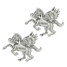 PAGASUS CUFFLINKS Mythical Winged Flying Horse NEW w GIFT BAG Wedding Groom