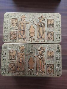 1000 yugioh Karten sammlung in 2 Gold Tin Boxen kein los