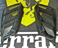 FERRARI 488 SPIDER EXTERIOR REAR LID ENGINE HOOD SIDE GRILL VENTS OEM 87667000