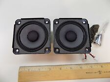 """Lot of (2) Bose SoundDock 2-3/4"""" / Series I Shielded Micro Speakers Pair"""