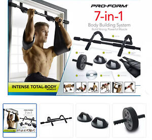 ProForm 7in1 Body Toming Home Gym Intense Fitness Workout Weight Pull Push