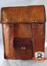 Retro Vintage Umhängetasche Handgefertigte 100% Ledertasche Schultasche