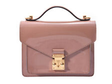 LOUIS VUITTON Vernis Monceau BB 2WAY bag Rose Velur M91580 800000076788000