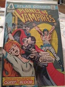Atlas comics #2 Planet Of The Vampires