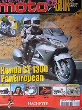 FASCICULE JOE BAR TEAM N°41 HONDA ST 1300 PANEUROPEAN TRIUMPH 750 TRIDENT VANVAN
