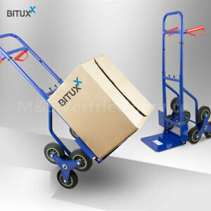 BITUXX Treppenkarre Sackkarre 200kg Treppensteiger Stapelkarre Gebraucht