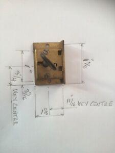 Brass Drawer Lock with Key