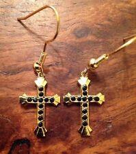 Gold Plated Rhinestone Vintage Costume Jewellery