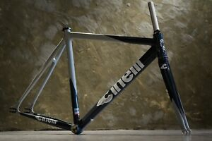 NOS!! Cinelli Mash 2009 Benny Gold Frameset Fixed Gear Track Bike Pista Rare