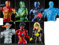 Marvel Legends 2021 Iron Man Ursa Major Full Wave Preorder Confirmed NO BAF