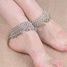 1pcs Women Bohemian Jingle Bells Tassel Anklet Bracelet Foot Chain Jewellry Gift