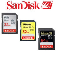 Sandisk SD Memory Card for Canon G7, SX720, SX540, SX420, ELPH 360, 180, 190